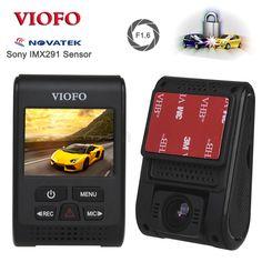 Originele VIOFO A119S V2 Condensator Novatek HD 1080 p 7G F1.6 Auto Dashcam video Camera DVR optioneel GPS CPL (bijgewerkt V2 Versie)