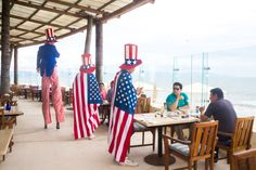 Celebrating the Indepence Day with all kind of fun and games at Grand Velas Riviera Nayarit
