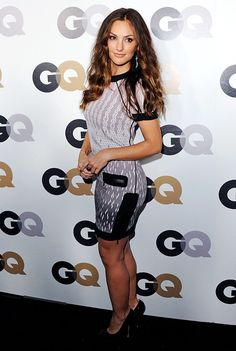 Minka Kelly --- She is most known for her roles in the TV series: Friday Night Lights, Parenthood, and Charlie's Angels. She is also known for her role in The Roommate.