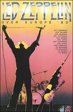 Led Zeppelin Tour Poster https://www.facebook.com/FromTheWaybackMachine