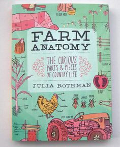 Farm Anatomy by Julia Rothman:  Ok, now I KNOW I can draw like this...I just need to have a good theme or an organized concept.
