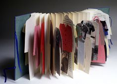The Art of the Book - Artists' Books/Livres d'artiste Accordion Book, Buch Design, Book Sculpture, Paper Book, Book Projects, Handmade Books, Book Binding, Moleskine, Book Making