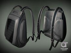 Solar Backpack Concept #c4d #cinema4d #vray #vray4c4d #backpack #solar #product #concept #render #3d #fiverr by omar_dex