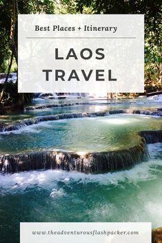 Laos Itinerary: Best Places to Visit in Laos for 10 Days Vientiane, Luang Prabang, Laos Travel, Asia Travel, Bangkok Travel, Sri Lanka, Voyage Laos, Travel Guides, Travel Tips