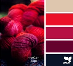 crimson, tan, red, black.