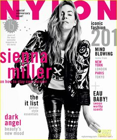 Sienna Miller to 'Nylon': I Want to Rebel Against All the Social Norm Rules! | sienna miller covers nylon april 2014 03 - Photo