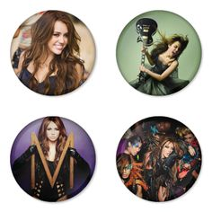 "MILEY CYRUS 1.75"" Badges Pinbacks, Mirror, Magnet, Bottle Opener Keychain http://www.amazon.com/gp/product/B00IFF0JV2"
