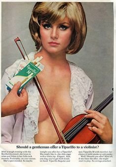 Sexist Vintage Ads - So what exactly was the conversation that brought this ad into being???