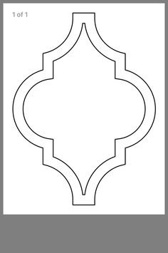Stencil Templates, Stencil Designs, Paint Designs, Wall Stencil Patterns, Rose Stencil, Stencil Diy, Stencils, Ramadan Crafts, Ramadan Decorations