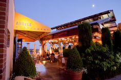 angele restaurant + bar - napa, california - owned by Bettina Rouas and her father, Claude Rouas, a founder of Auberge du Soleil and other Auberge properties.