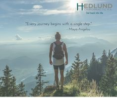 """Every journey begins with a single step."" #inspiration #motivation"