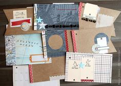 Paper Lust: Mini books : good use of embellishments