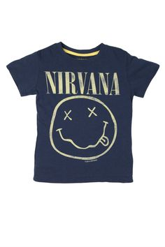 nirvana smiley s/s tee ln | Cotton On