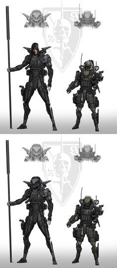 Zero/Gunner by StTheo on DeviantArt