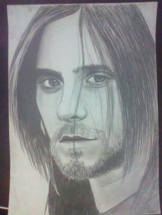 Jared Leto (30 sec to Mars) Portrait