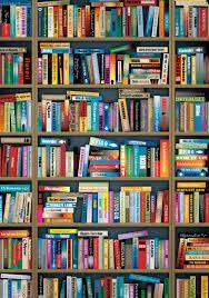 Fake Bookcase Wallpaper Google Search