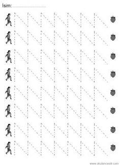 Line worksheets. Tracing Worksheets, Alphabet Worksheets, Preschool Worksheets, Preschool Activities, Handwriting Analysis, Handwriting Practice, Preschool Painting, Kindergarten Morning Work, Numbers Preschool