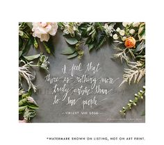 floral. quotes. the best.
