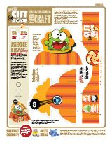 Cut the Rope Paper Craft Toy by Desktop Gremlins