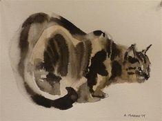 "Daily Paintworks - ""adopt56"" - Original Fine Art for Sale - © Katya Minkina"
