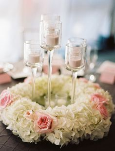 Short Wedding Reception Centerpieces | Weddings Romantique