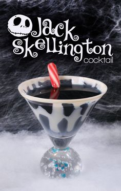 awesome Cocktail: The Jack Skellington (Nightmare Before Christmas)