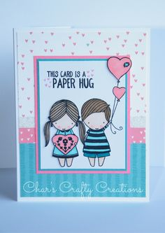 CTMH Little Dreamer card by Char's Crafty Creations using the True Love stamp set.