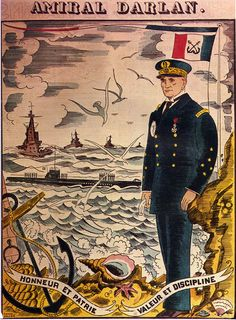 Cartel de propaganda Aleman en Frances - German propaganda poster in french - Segunda guerra mundial - Second World War - WWII