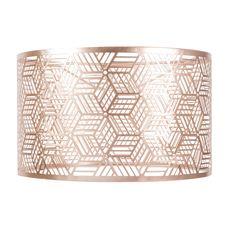 Study £29.99ORIGAMI COPPER metal pendant lamp, D 31 cm