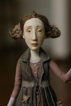 """Collection doll / Коллекционные куклы ручной работы. Ярмарка Мастеров - ручная работа. Купить кукла из серии """"Чудачки, любительницы живого."""". Handmade."""
