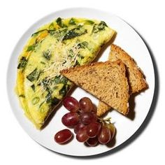 300-Calorie Breakfasts - also links to 400 calorie lunches and 500 calorie dinners. Awesome!