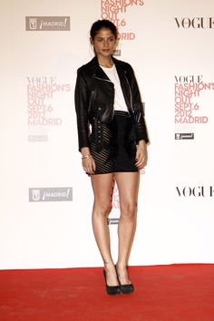 el photocall de Vogue Fashions Night Out: Alba Galocha