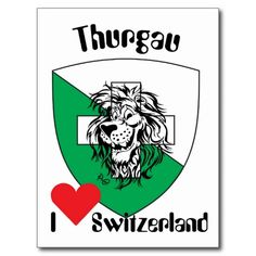 Shop Thurgau Switzerland postcard created by la_luna_blue. Swiss Alps, Mousepad, Coat Of Arms, Vintage Posters, Switzerland, Logos, Blue, La Luna, Switzerland Destinations