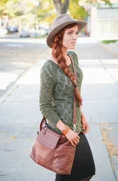 The Freckled Fox - a Hairstyle Blog: What I Wore // some favorite Fall staples