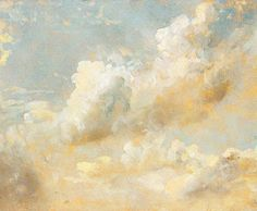 """Cloud Series"" - John Constable"