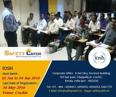 Do you willing to join #IOSH managing #safely #certificate course in #Chennai? Our next batch is starting from 2nd June: http://bit.ly/IOSH-Training-Program Register today!!
