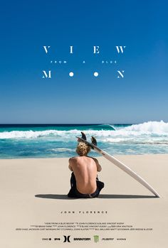 John John Florence,  View From a Blue Moon , official movie poster