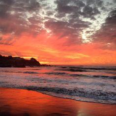 #Sunset, Pichilemu, Chile