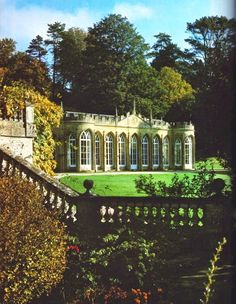 The Orangery at Daylesford, Gloucestershire, England.