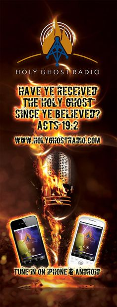 Holy Ghost Radio - Christian Radio Station – Music, Preaching, Conferences, Crusades, Bible Studies.