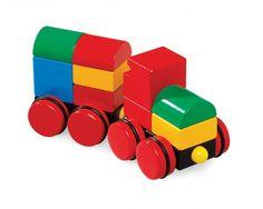 BRIO Blocks Magnetic Stacking Train 30124