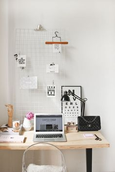 A home office tour at Team Chapter Friday