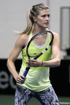 "Eugenie ""Genie"" Bouchard Canadian Tennis Player, Tennis Players Female, Wta Tennis, Sport Tennis, Tennis Clothes, Tennis Outfits, Eugene Bouchard, Tennis Funny, Tennis Association"