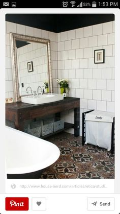 Vanity small bathroom