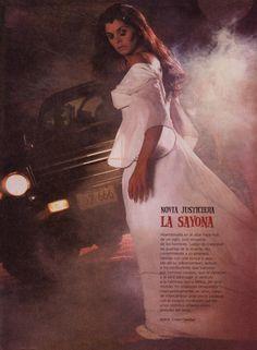 Especial que realizo la revista Dominical con algunos de los Fantasmas y espectros mas conocidos en Venezuela, La Sayona.