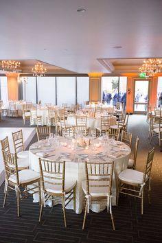 The Symphony Ballroom at Center Club. Photo by: Brett Hickman #CenterClubOc #WeAreOc #ClubCorp #OcWedding #OcVenue #Pink #White
