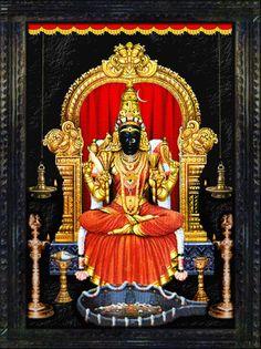 Kamakshi - Kamakshi Amman Temple, (Kanchipuram, Tamil Nadu)