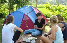Bali Camping Breakfast