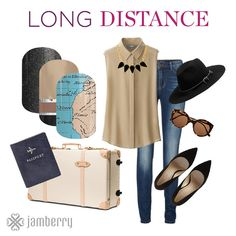 Long Distance | by jamberryHomeOffice