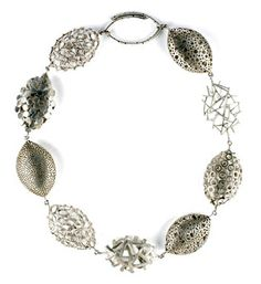 Necklace   SARAH KING-UK. Sterling silver.